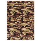 Ткань на клеевой основе «Военная», 21 х 30 см.