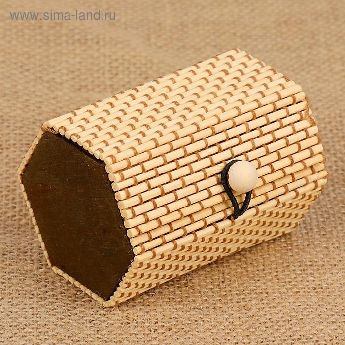 Шкатулка шестиугольная