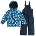 Комплект для мальчика, рост 98 см, цвет синий БД 0033.2-П095