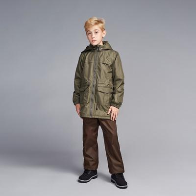 Ветровка для мальчика, рост 122 см, цвет хаки