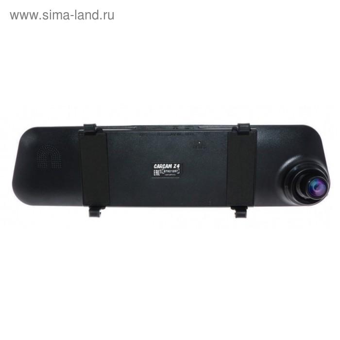 """Видеорегистратор Carcam Каркам Z4, зеркало, 4.3"""", обзор 140°, 1280x720"""