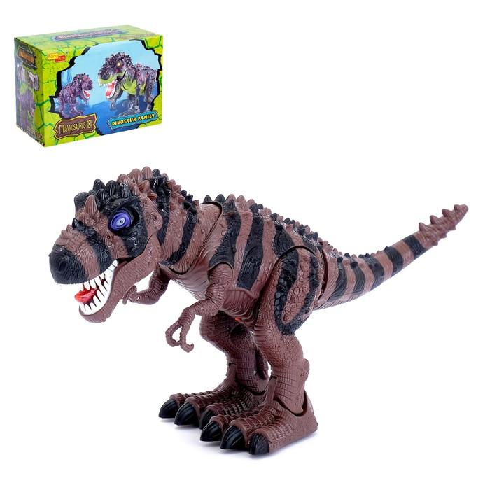 """Животное """"Динозавр"""", световые эффекты, МИКС"""