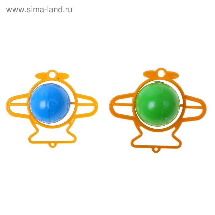 "Погремушка ""Самолётик"", цвета МИКС"