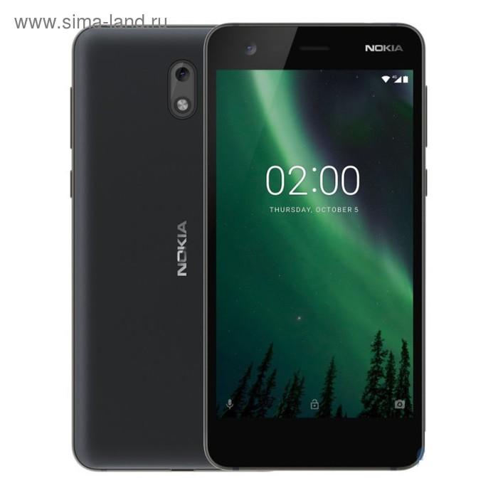 Смартфон Nokia 2 DS Black LTE TA-1029, цвет черный
