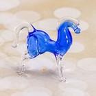 """Сувенир стекло микро """"Лошадь"""" 1,8х1,7х1,1 см"""