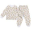 Пижама детская, рост 98-104 см, цвет микс ПЖ-1803