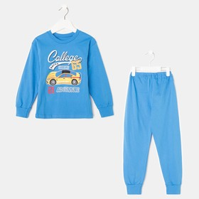 Пижама детская, рост 110-116 см, цвет микс ПЖ-1802