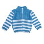 Кофта детская, рост 74-80, цвет голубой  1132_М