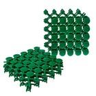 "Плитка садовая, 12.5 х 12.5 см, пластик, зелёный, ""Мозаика"""