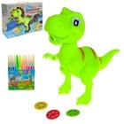 """Проектор """"Динозавр"""", 3 слайда, 12 фломастеров"""