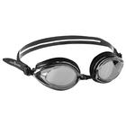 Очки для плавания Techno Mirror II, цвет чёрный