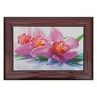 """Картина """"Большая орхидея""""  27*37 см"""