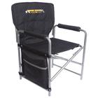 Кресло складное, размер 490х490х720 мм, цвет черный  КС1
