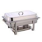 Мармит Gastrorag 833, настольный, поддон для пищи GN 1/1, 2 держателя для топлива