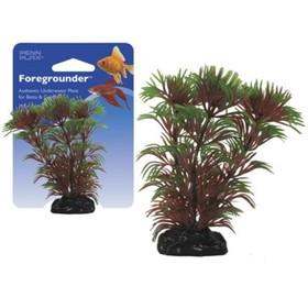 Растение PENN-PLAX CABOMBA, 9см, с грузом, красно-зеленое