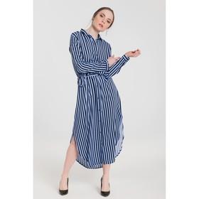 Платье женское 69003 цвет голубой, р-р 42 (S/36)