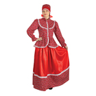 """Русский народный женский костюм """"Забава"""", головной убор, блуза, юбка, р-р 50"""
