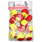 Мяч теннисный WILSON Starter Red, арт. WRT137100, ITF, 12 шт