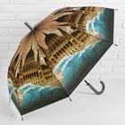 Зонт-трость, полуавтоматический, R=50см, №2 42800S