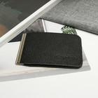 Зажим для купюр Z-11-300, 11*1*8, с метал держателем, черный доллар