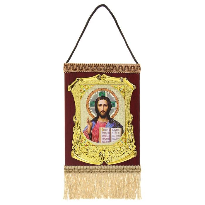 Икона в рамке, с подвесом