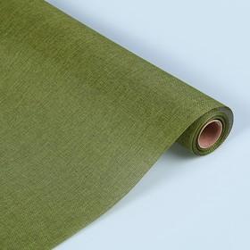 Джут искусственный, оливковый, 0,5 х 4,5 м Ош