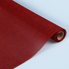 Джут искусственный, красный, 0,5 х 4,5 м Ош