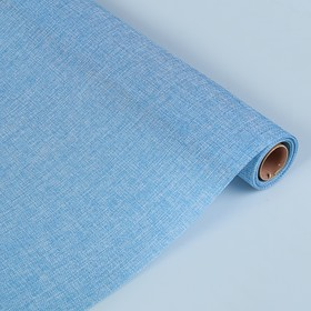 Джут искусственный, светло-голубой, 0,5 х 4,5 м Ош