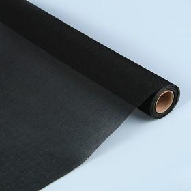 Джут искусственный, черный, 0,5 х 4,5 м Ош