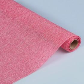 Джут искусственный, розовый, 0,5 х 4,5 м Ош