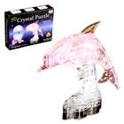 """Пазл 3D кристаллический, """"Дельфин"""", 39 деталей, цвета МИКС"""