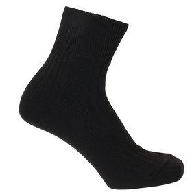 Носки мужские с медицинской резинкой МН-1041 цвет чёрный, р-р 27
