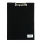 Планшет с прижимом А4, Calligrata, песок, чёрная