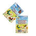 """Открытка - подвеска """"С Днём Рождения!"""" ромашки, бабочки"""