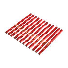 Строительный карандаш LOM, 180 мм, 12 шт.