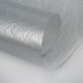 Бумага цветная Тишью (шёлковая) 510*760 мм Sadipal 1 л 17 г/м2 серый 11161 Ош