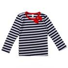 Джемпер для девочек, рост 98-104 (28) см, цвет полоска 10878