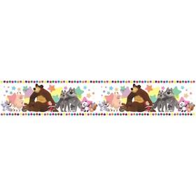 Бордюр Симфония Б-002, 'Машины друзья' ширина 10 см, длина 14 м Ош