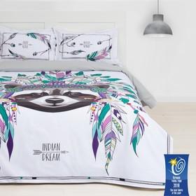 Постельное бельё «Этель» Indian style, 1,5-сп, 143 × 215 см, 150 × 214 см, 50 × 70 (+3) см, 2 шт., ранфорс 111 г/м²