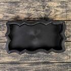 Форма для тротуарной плитки «Волна Зигзаг», 26 х 13 х 5.6 см, шагрень, Ф11005