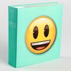 Фотоальбом на 200 фото 10х15 см Innova Emoji Slip Smiley