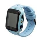 Умные часы SmartBabyWatch G100, детские, голубые