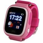 Умные часы SmartBabyWatch Q80, детские, розовые