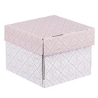 Складная коробка «Узоры», 15 х 15 х 12 см