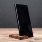 Держатель для телефона, массив сосны, 7 х 4 см