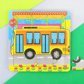 Пазл 'Автобусная остановка', 16 элементов Ош