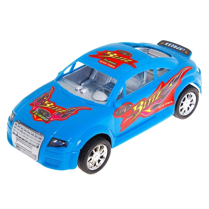 Машина инерционная, цвета МИКС