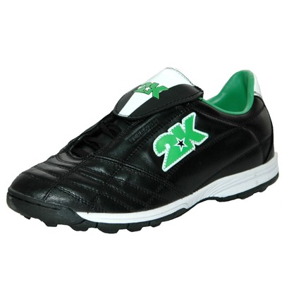 Бутсы футбольные 2K Sport Edinburgh turf, black/green, размер 45,5