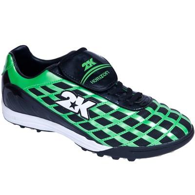 Бутсы футбольные 2K Sport Horizon turf, green/black, размер 44