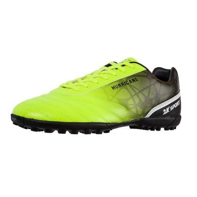 Футбольные бутсы 2K Sport Hurricane TF, lime/black, размер 41,5